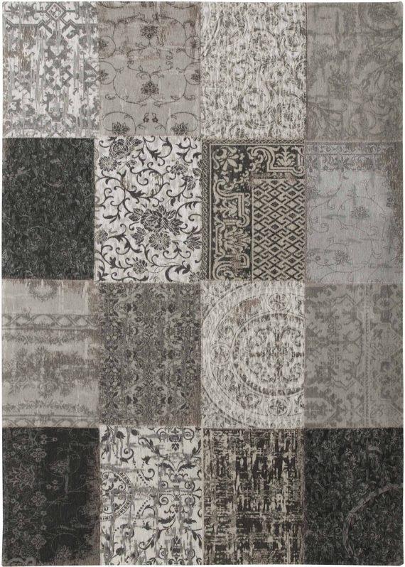 tapijt Louis De Poortere PT8101 Vintage Black White