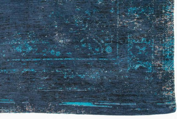 tapijt Louis De Poortere PT8254 Fading World Medaillon Blue Night corner
