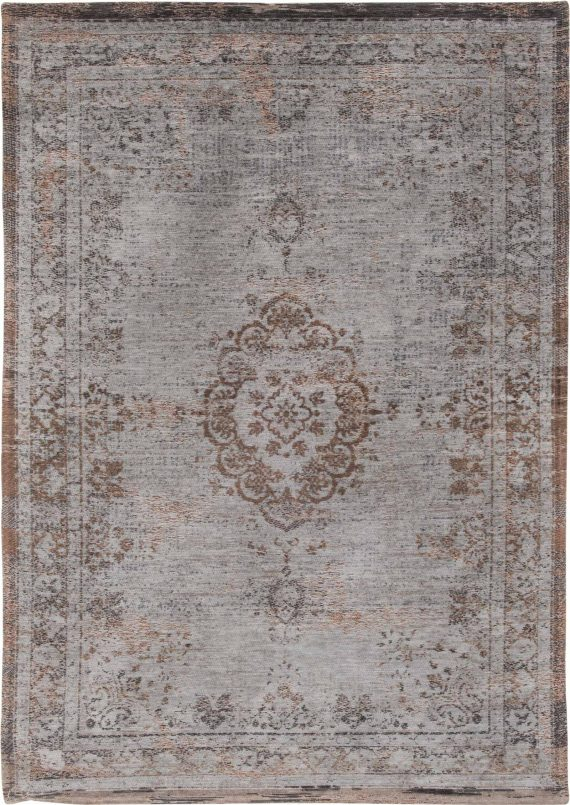 tapijt Louis De Poortere PT8257 Fading World Medaillon Grey Ebony
