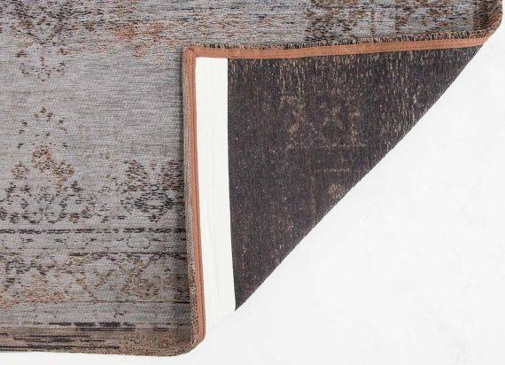 tapijt Louis De Poortere PT8257 Fading World Medaillon Grey Ebony back