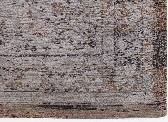 tapijt Louis De Poortere PT8257 Fading World Medaillon Grey Ebony corner