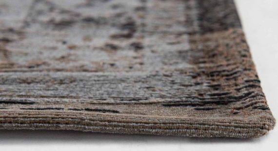 tapijt Louis De Poortere PT8257 Fading World Medaillon Grey Ebony side