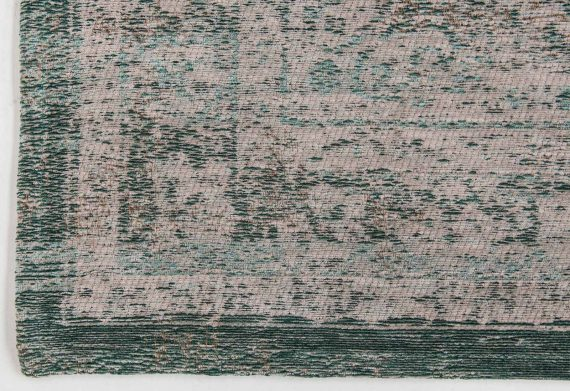 tapijt Louis De Poortere PT8259 Fading World Medaillon Jade Oyster corner