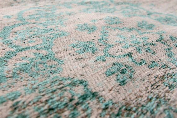 tapijt Louis De Poortere PT8259 Fading World Medaillon Jade Oyster zoom