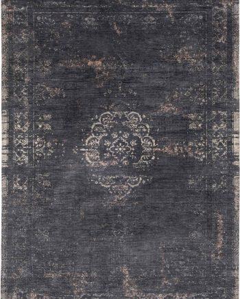 tapijt Louis De Poortere PT8263 Fading World Medaillon Mineral Black