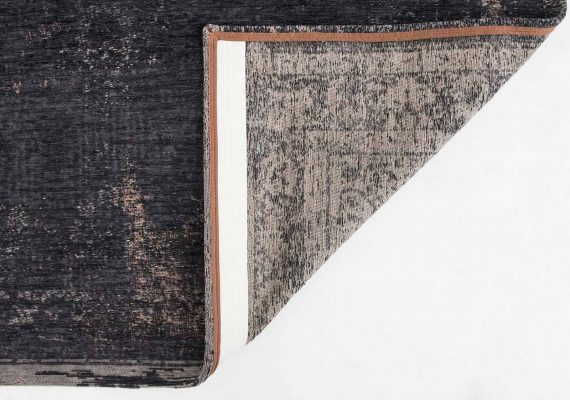tapijt Louis De Poortere PT8263 Fading World Medaillon Mineral Black back