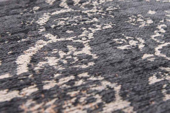 tapijt Louis De Poortere PT8263 Fading World Medaillon Mineral Black zoom