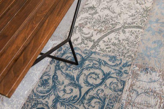tapijt Louis De Poortere PT8981 Vintage Bruges Blue zoom 3