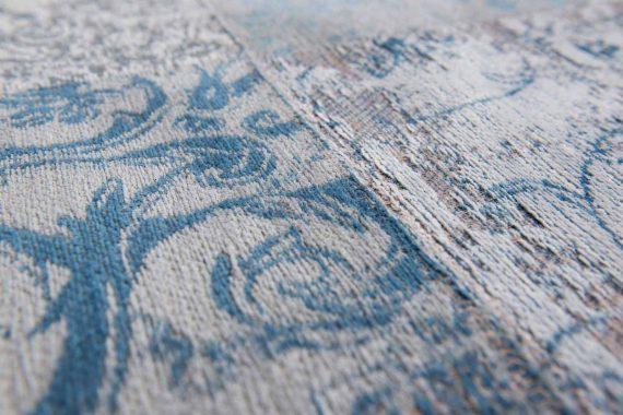 tapijt Louis De Poortere PT8981 Vintage Bruges Blue zoom