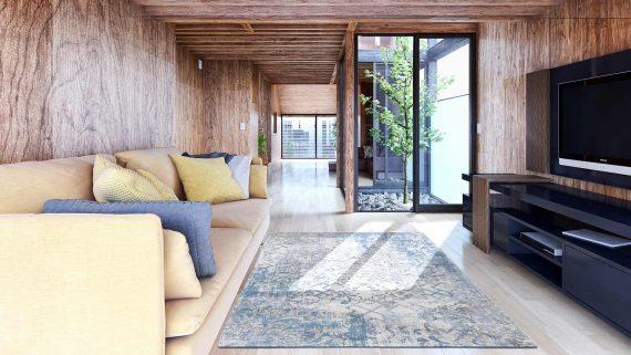 tapijt Louis De Poortere PT8545 Fading World Babylon Alhambra interior