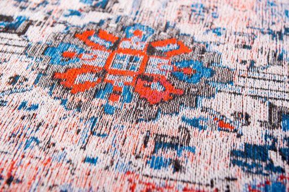 tapijt Louis De Poortere PT8703 Antiquarian Antique Heriz Classic Brick zoom 2