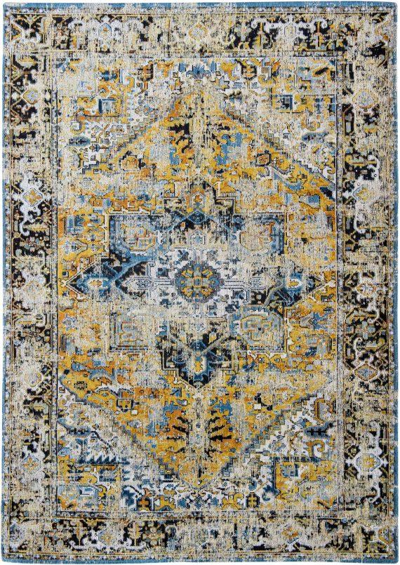 tapijt Louis De Poortere PT8704 Antiquarian Antique Heriz Amir Gold