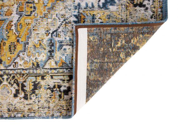 tapijt Louis De Poortere PT8704 Antiquarian Antique Heriz Amir Gold back