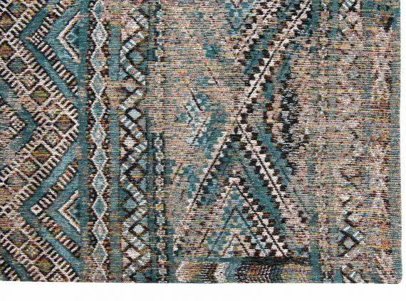 Louis De Poortere tapijt PT 9110 Antiquarian Kilim Zemmuri Blue corner