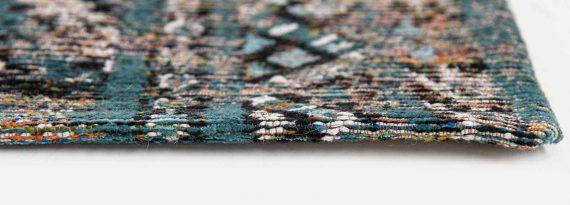 Louis De Poortere tapijt PT 9110 Antiquarian Kilim Zemmuri Blue side
