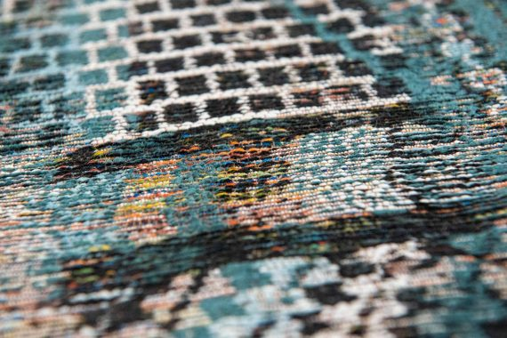 Louis De Poortere tapijt PT 9110 Antiquarian Kilim Zemmuri Blue zoom 2
