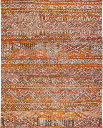 Louis De Poortere tapijt PT 9111 Antiquarian Kilim Riad Orange