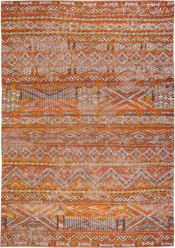 Louis De Poortere tapijt PT 9111 Antiquarian Kilim Riad Orange