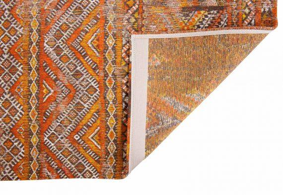 Louis De Poortere tapijt PT 9111 Antiquarian Kilim Riad Orange back