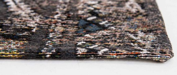 Louis De Poortere tapijt PT 9113 Antiquarian Kilim Black Rabat side
