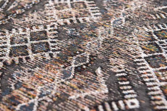 Louis De Poortere tapijt PT 9113 Antiquarian Kilim Black Rabat zoom 1