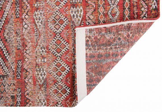 Louis De Poortere tapijt PT 9115 Antiquarian Kilim Fez Red back