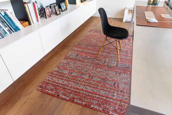 Louis De Poortere tapijt PT 9115 Antiquarian Kilim Fez Red interior 5