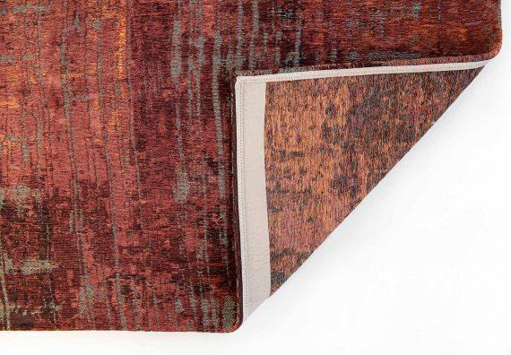 Louis De Poortere tapijt PT 9125 Atlantic Streaks Nassau Red back