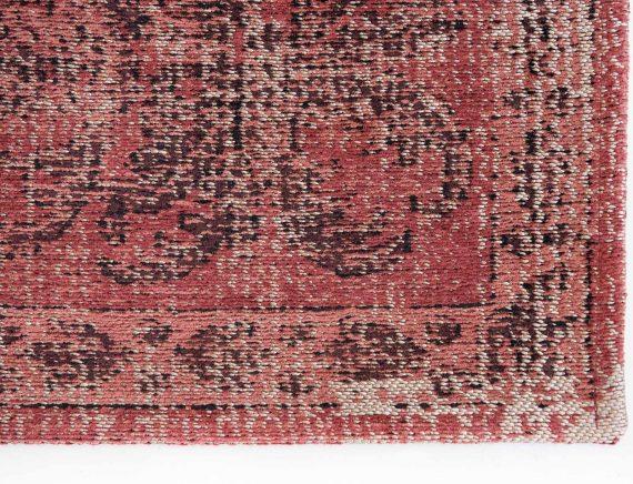 Louis De Poortere tapijt PT 9141 Palazzo Da Mosta Borgia Red corner