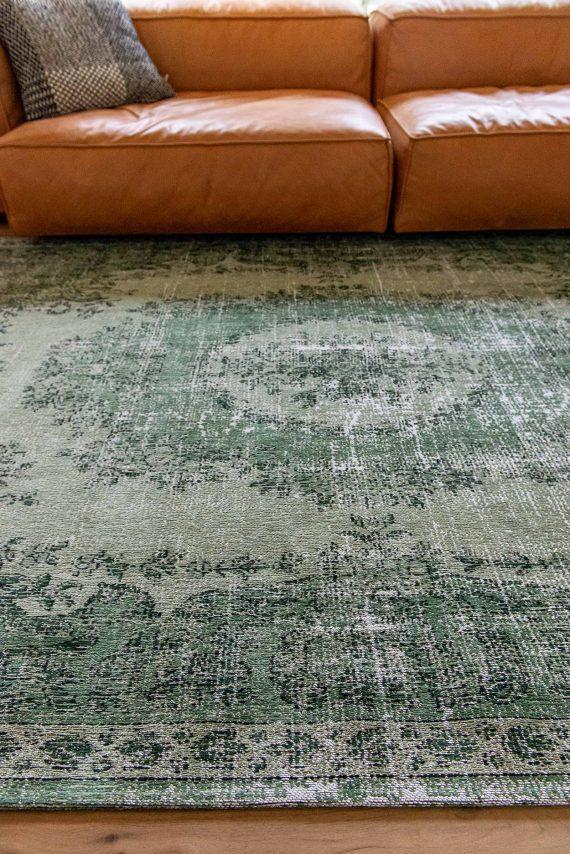 Louis De Poortere tapijt PT 9142 Palazzo Da Mosta Este Green interior 6