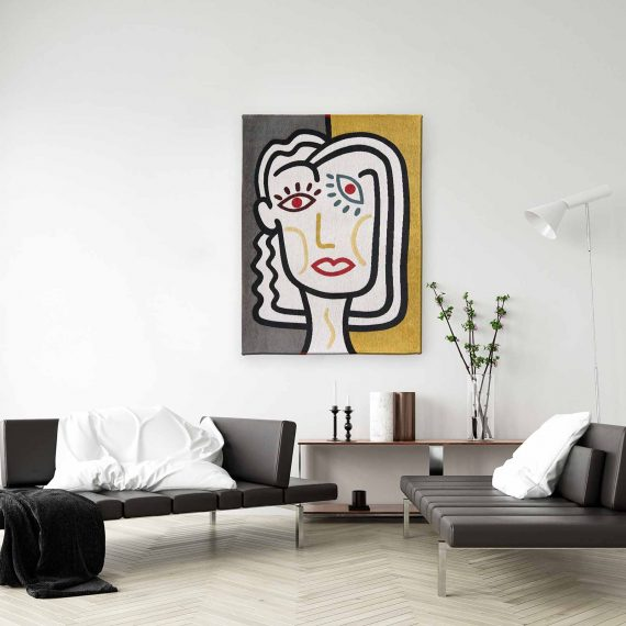 Louis De Poortere tapijt PT 9143 Gallery Dora Dorado interior 1