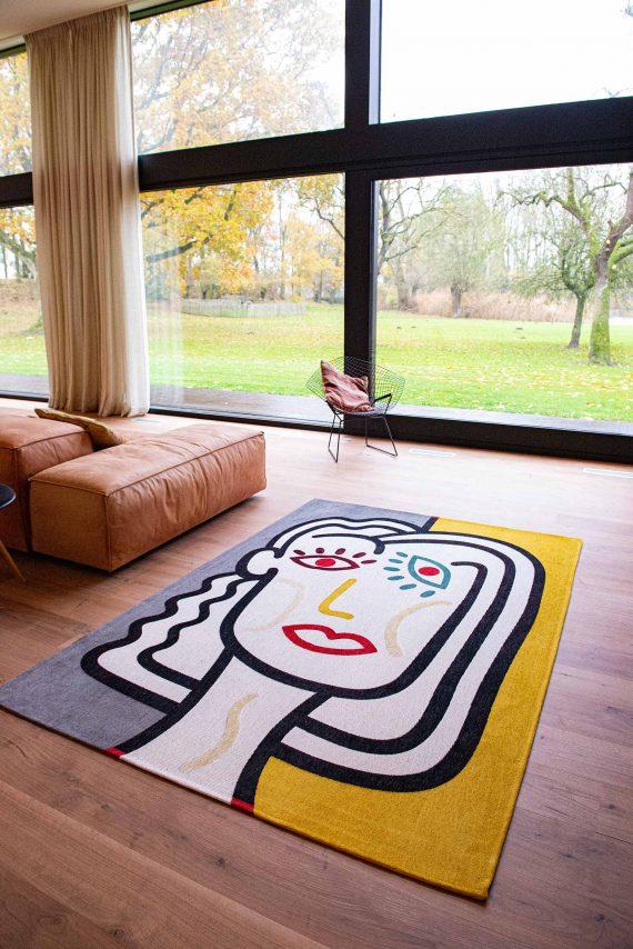 Louis De Poortere tapijt PT 9143 Gallery Dora Dorado interior 4