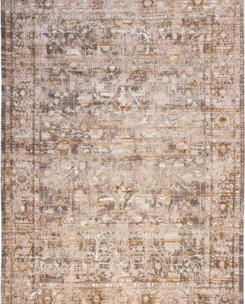 tapijt Louis De Poortere PT 8884 Antiquarian Ushak Suleiman Grey